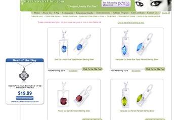 silver jewelry club free designer jewelry free