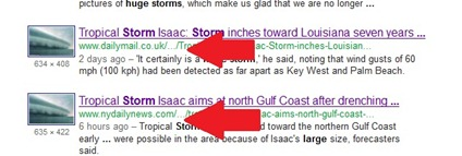 hurricane isaac - associated press sites using fake picture without proper credit2