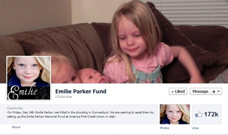 emilie parker fund page For Real: Exploiting Sandy Hook Victims for Profit